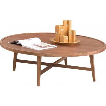 110 Coffee Table, Dark Walnut