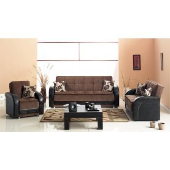 Utica 3-Piece Living Room Set by Empire Furniture, USA