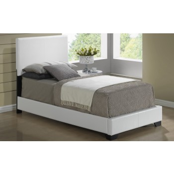 8103 Twin Size Bed, White