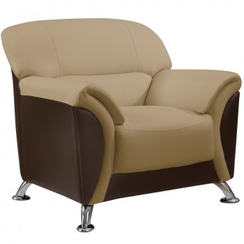 U9103 Chair, Cappuccino and Chocolate by Global Furniture USA
