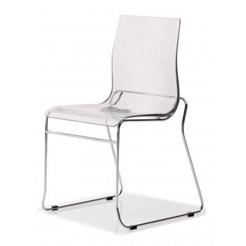 Gel-T Chair, Clear
