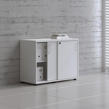 Sliding Doors Storage Unit A2P05, White