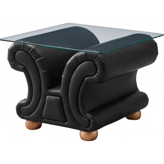 Apolo End Table, Black photo