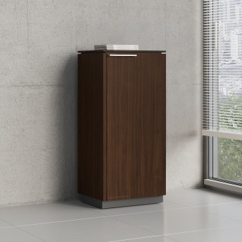 Status 1 Right Door Storage Cabinet X37, Chestnut