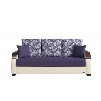 La Reina Sofa, Moon Dark Purple by Casamode