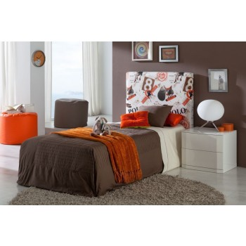 700C Polo Youth Euro Twin Size Storage Bed