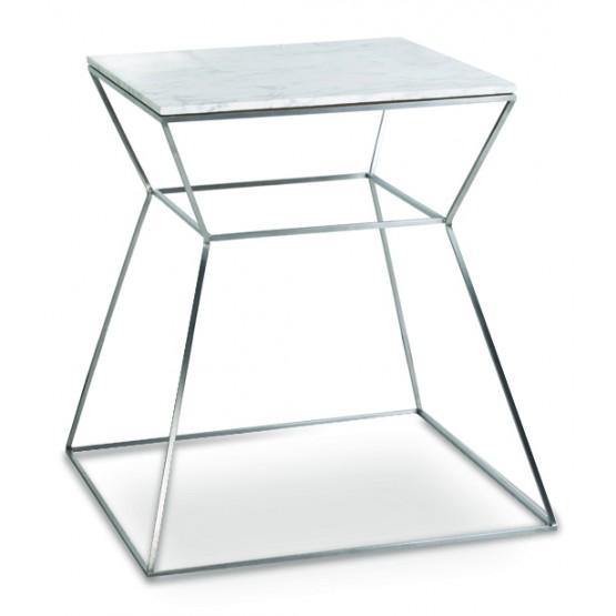 Gakko End Table, Marble photo