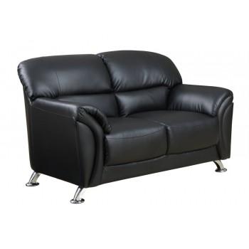 U9103 Loveseat, Black by Global Furniture USA
