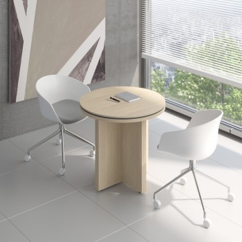 Status Small Table X22, Canadian Oak