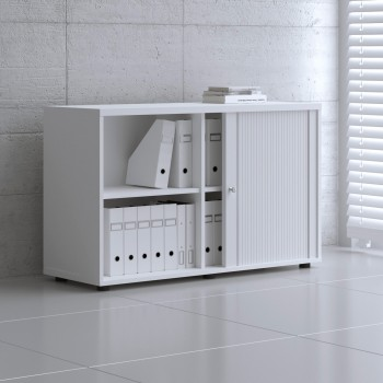 Tambour Pro Storage Unit IA2L06, White