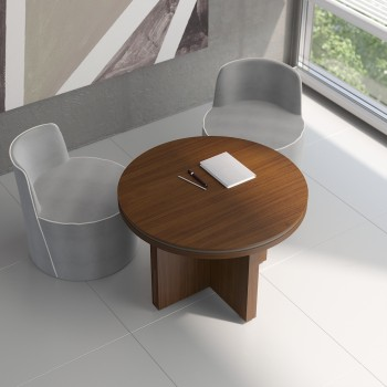 Status Small Table X19, Chestnut