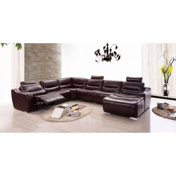 2144 Sectional w/Recliner, Right Arm Facing