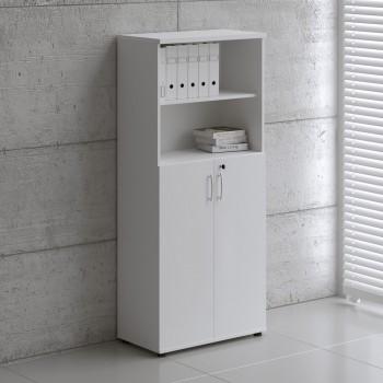 Basic K5304 2-Door Storage, White
