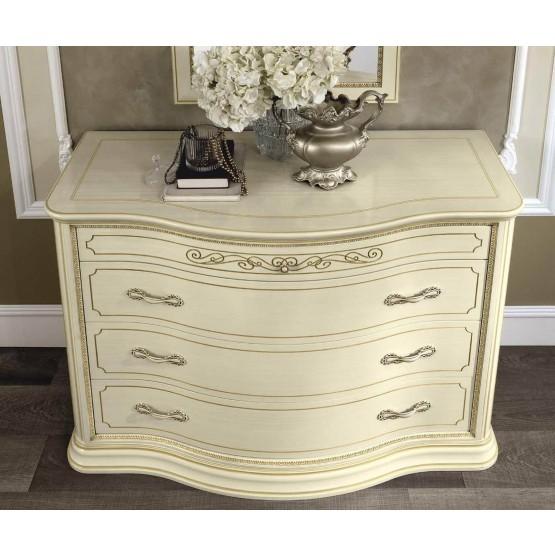 Torriani Vip Single Dresser, Ivory photo