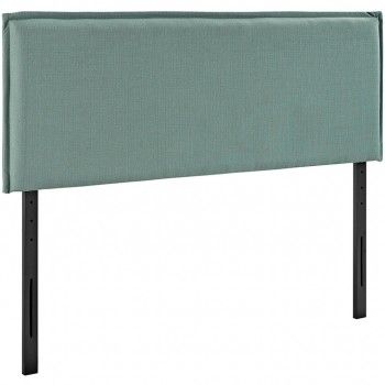 Camille King Fabric Headboard, Laguna by Modway