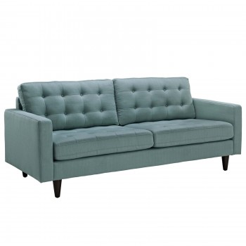 Empress Upholstered Sofa, Laguna by Modway