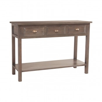 Montauk 3-Drawer Console