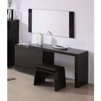Athens 3-Piece Bedroom Vanity Set, Black