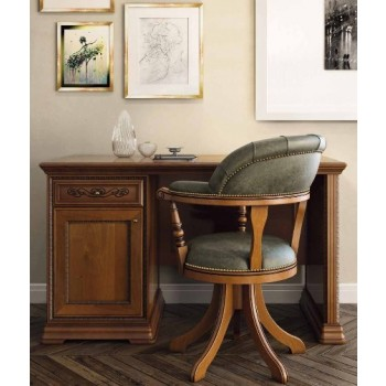 Torriani 2-Piece Office Set, Composition 2, Walnut