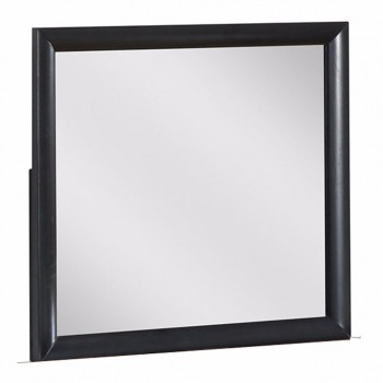 Linda Mirror, Black by Global Furniture USA