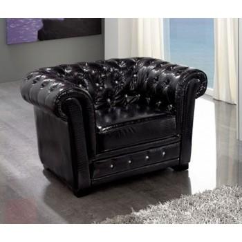 Coco SF-24 Armchair, Black