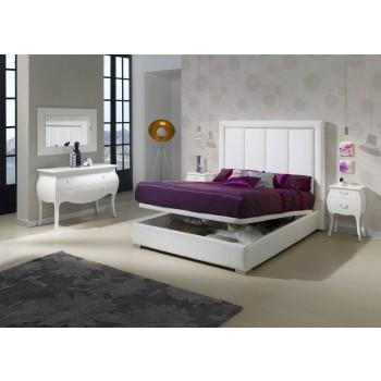 871 Monica 3-Piece Euro King Size Bedroom Set